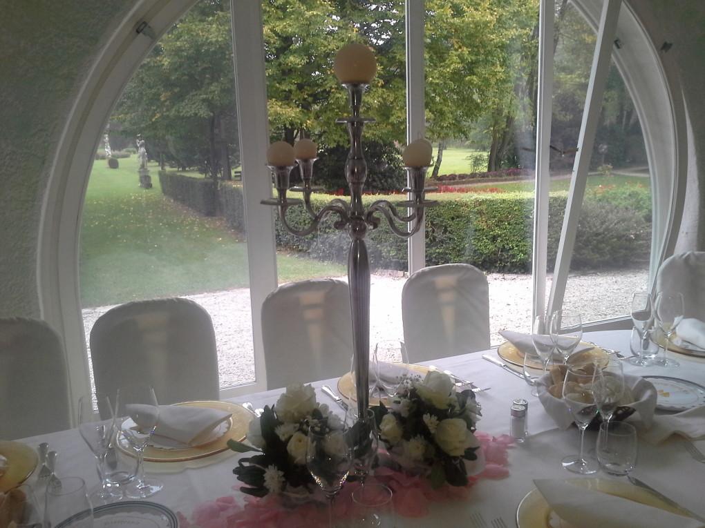 tavolo e candelabro
