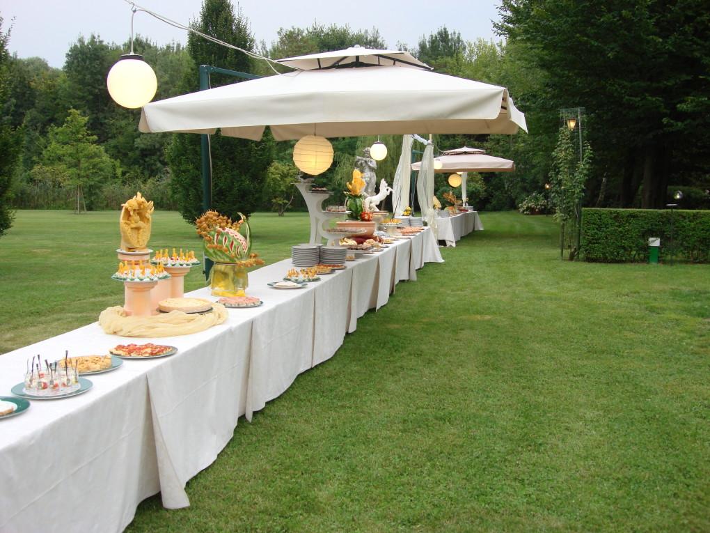 Buffet giardino