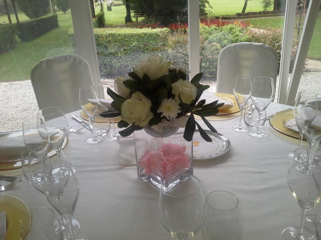 Sala-Veranda- Centro tavola
